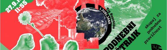 Sindikati in podnebne spremembe – Na mrtvem planetu ni delovnih mest