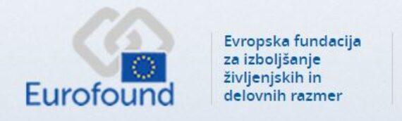 Evropska raziskava 2021 o delovnih razmerah (EWCS)