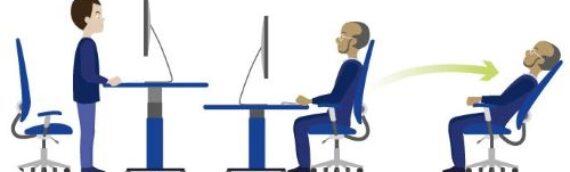 Mišično-kostna obolenja zaradi sedečega dela in dolgotrajnega stanja na delovnem mestu